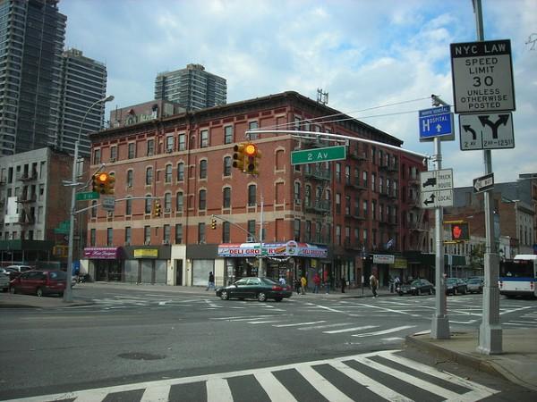 El barrio de Harlem, en Nueva York