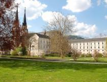 La Abadía de Admont en el estado de Estiria