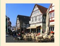 La Feria de Bad Vilbeler Markt en la región de Hesse