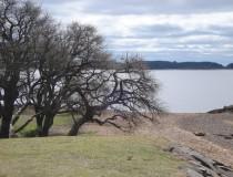 Represa y lago de Concordia