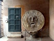 La Boca de la Verdad, en Roma