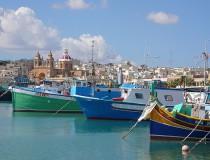 Marsaxlokk, pintoresco pueblo pesquero