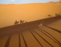 Dunas de Merzouga, el Sáhara en estado puro