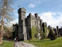 El Ashford Castle, castillo-hotel en el condado de Mayo