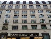 El Hotel Breidenbacher Hof en Dusseldorf