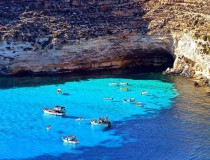 La isla de Lampedusa y sus famosas playas