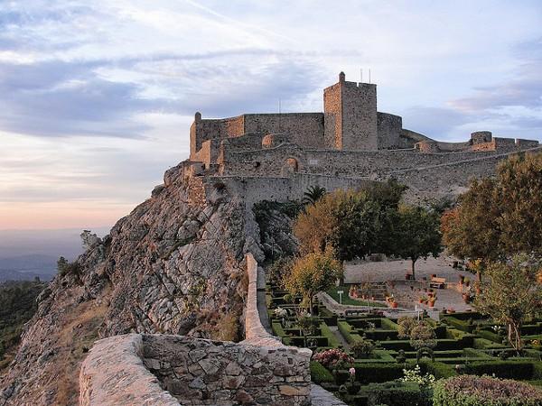 El Castillo de Marvao, conocido como el Nido de Águilas