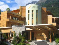El hotel ecológico Waldklause, en la región del Tirol