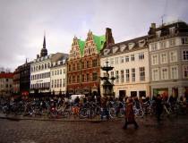 Ir en bicicleta en Dinamarca
