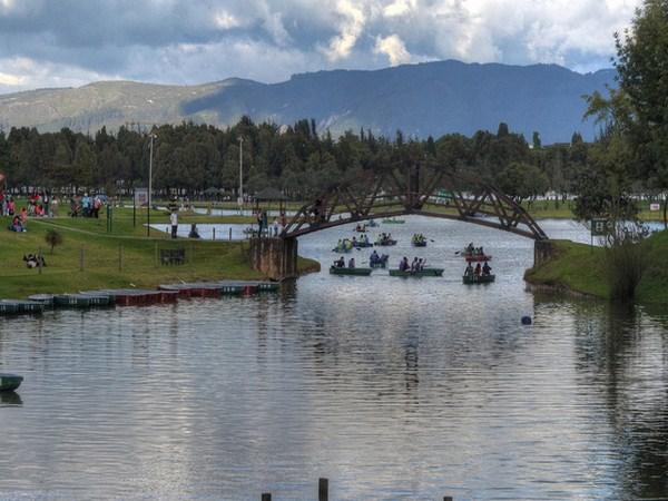 El Parque Metropolitano Simon Bolivar en Bogota