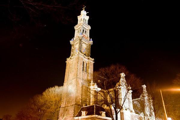 Westerkerk, la mayor iglesia de Amsterdam