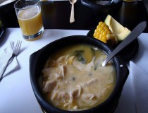 Algunos platos típicos en Bogotá