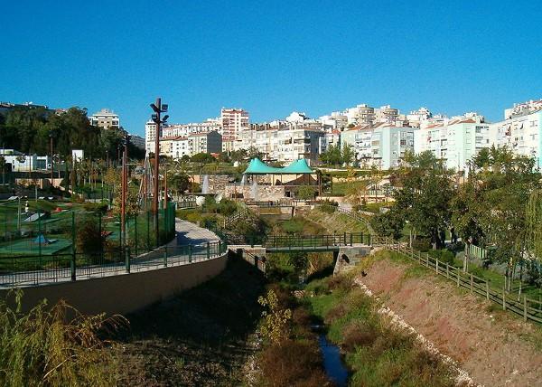 Amadora es una ciudad con muchas zonas verdes