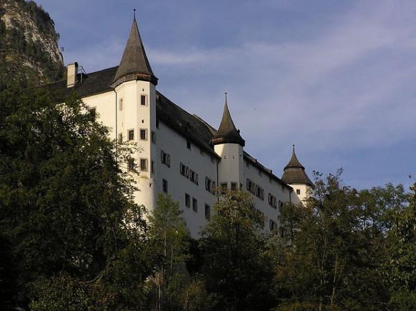 El Castillo de Tratzberg, uno de los más bellos de Europa