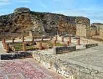 Las ruinas romanas de Conímbriga