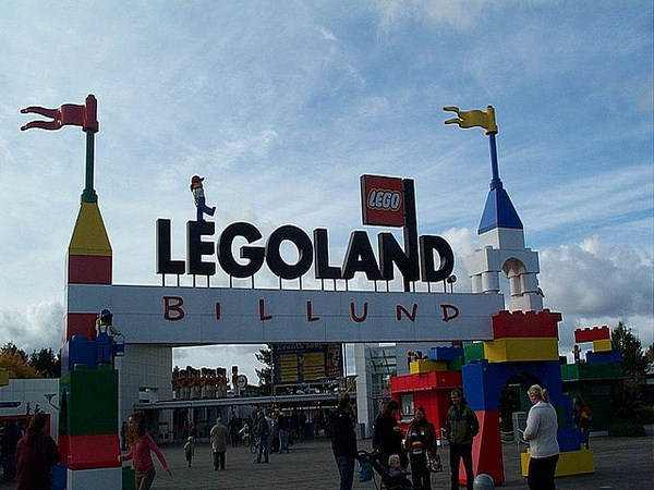Legoland, parque temático en Billund