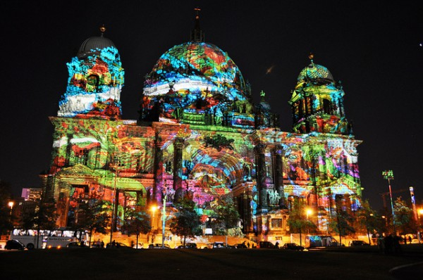 Luces en Berlin