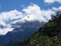 El Volcán del Nevado del Tolima en Ibagué