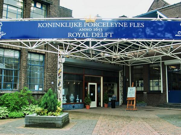 La Royal Delft, la auténtica y única fábrica de cerámica de Delft
