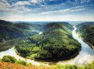Saarschleife, maravilla natural en el estado del Sarre