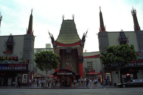 El Teatro Chino de Grauman, en Los Ángeles