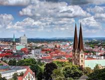 Bielefeld, en la senda del Bosque Teutónico