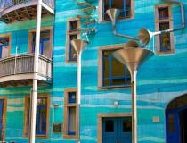 Neustadt Kunsthofpassage y su curiosa casa musical