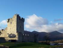 El Castillo de Ross en la ciudad de Killarney