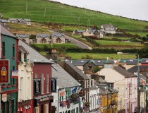 Dingle, ciudad ubicada en la zona de Gaeltacht