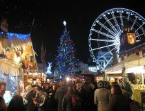 El mercado de Navidad en Belfast