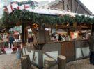 El mercado Dublin Docklands de Navidad