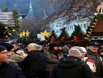 El mercado de Navidad en Heidelberg