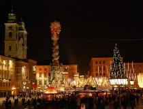 Los mercados de Navidad en la ciudad de Linz