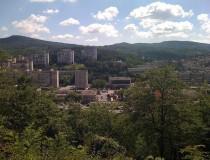 Salgótarján, ciudad rodeada por colinas