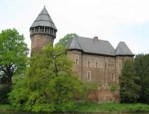El Castillo de Linn en la ciudad de Krefeld