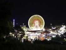 Feria de la Primavera en la ciudad de Frankfurt
