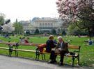 Bello paseo por el Stadtpark de Viena