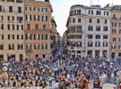 La Via Condotti, la calle de la moda en Roma