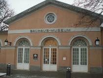 El Museo de la Bauhaus en la ciudad de Weimar