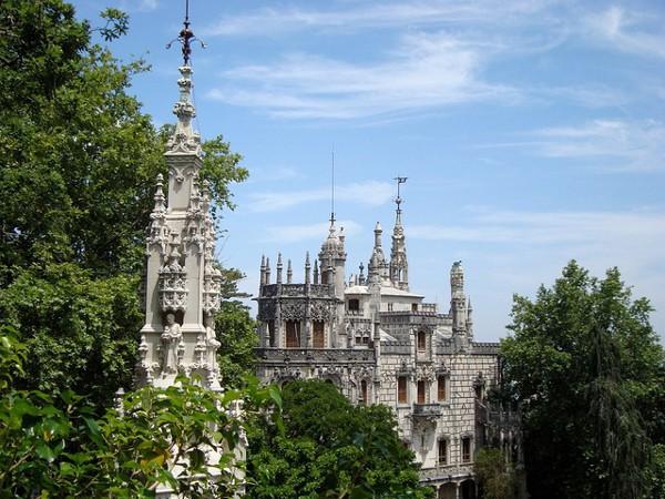 El palacio de la Quinta da Regaleira, en Sintra