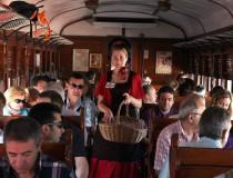 Madrid-Aranjuez en el Tren de la Fresa
