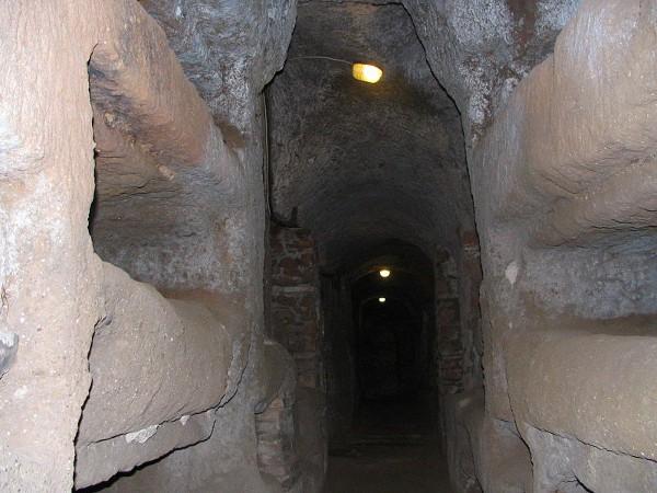 Las catacumbas de San Calixto, en Roma
