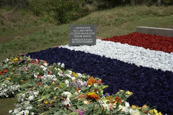 Monumento en Waalsdorpervlakte en homenaje a los caídos en la II WW