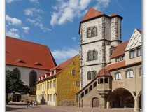 El Castillo Moritzburg en la ciudad de Halle