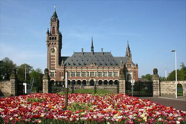 El Palacio de la Paz, uno de los edificios más famosos de La Haya