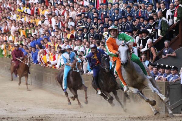 Los Palios de Siena, una fiesta grande y colorida