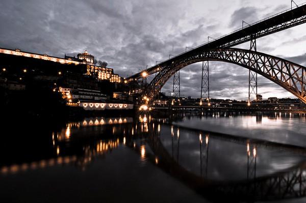 El Puente de Don Luis, en Oporto