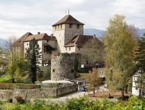 El Castillo de Schattenburg en Feldkirch
