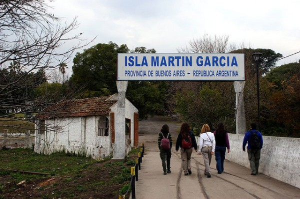 Ingreso a la Isla Martin Garcia