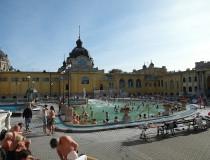 Los Baños Termales Szechenyi en Budapest